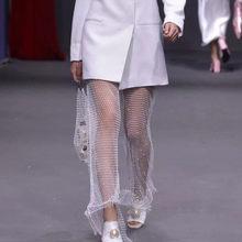 여성 비키니 블링 크리스탈 커버 탑스 섹시 피쉬 넷 할로우 수영복 수영복 탑스 블랙 화이트(China)