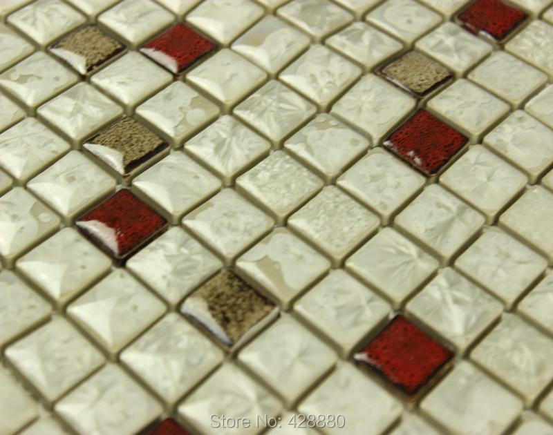 Porcelain backsplash tile