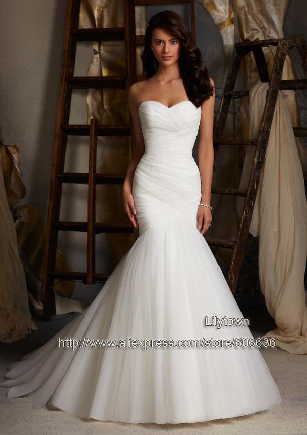 Bridal Gowns: plain bridal gowns