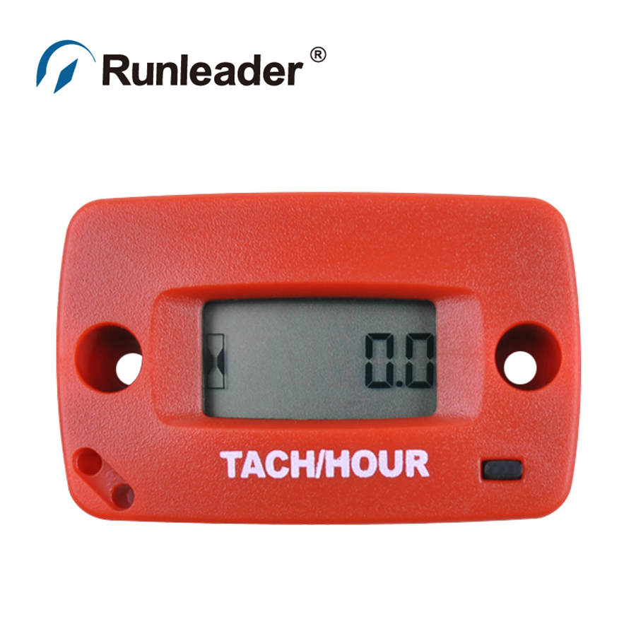 Tachometer tach RPM Hour Meter for mower ATV Motorcycle Snowmobile jet ski motocross pit bike marine outboard boat MX(China (Mainland))