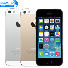 "Buy Original Apple iPhone 5S Unlocked Mobile Phone 4.0"" IPS HD Dual Core A7 GPS iOS 8MP 16GB/32GB/64GB iPhone5S Used Smartphone for $127.86 in AliExpress store"