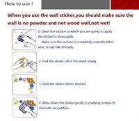 Стикеры для стен & 40'* 40 /100 * 100