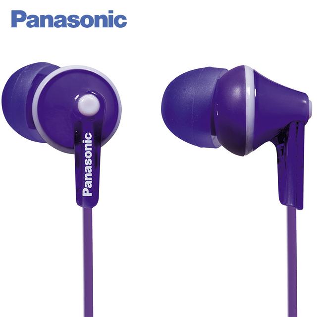 Panasonic RP-HJE125E-V наушники-вкладыши, частотный диапазон 10 - 24 000 Гц, 16 Ом, 97 дБ/мВт, диаметр 10 мм, динамик OctaRib для высококачественного звука, дизайн Ergofit, длина шнура 1.1 м, разъём mini-jack 3,5 мм.