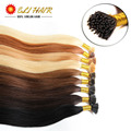100s pack Pre bonded Keratin stick tip hair I tip Human Hair Extensions 50g Remy stick