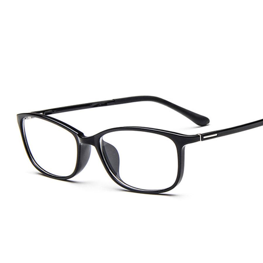 Small Designer Eyeglass Frames : 2016 new ultralight square small glasses Frame TR90 men ...