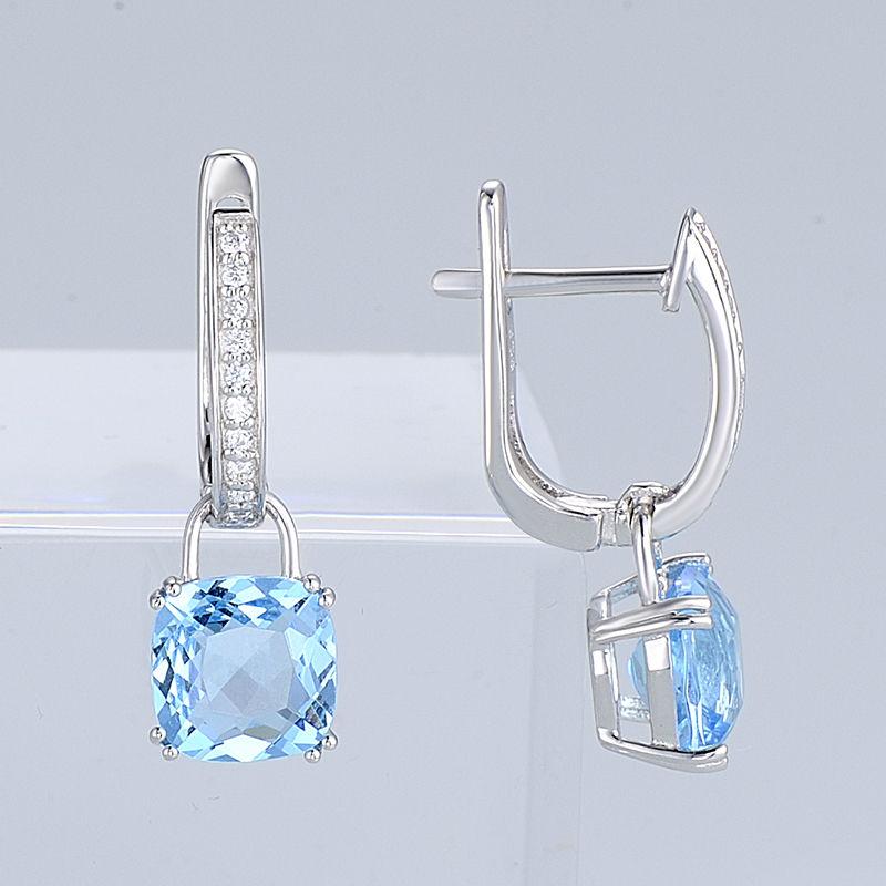 Silver Earrings - E304362SBLGZ1SL925-SV9