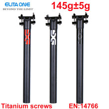 Buy carbon seatpost 27.2/30.8/31.6*350/400mm carbon bike parts mtb seat post road carbon seatpost Certificat CEN 3K matte 145g-165g for $31.68 in AliExpress store