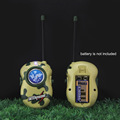 2PCS Toy Walkie Talkies Camouflage Two Way Radio For Kids Radio Communicator Bright Multicolor Electronic Toys