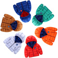 quality 6 Colors 2016 children s clothing winter child down cotton padded coat child thickening wadded
