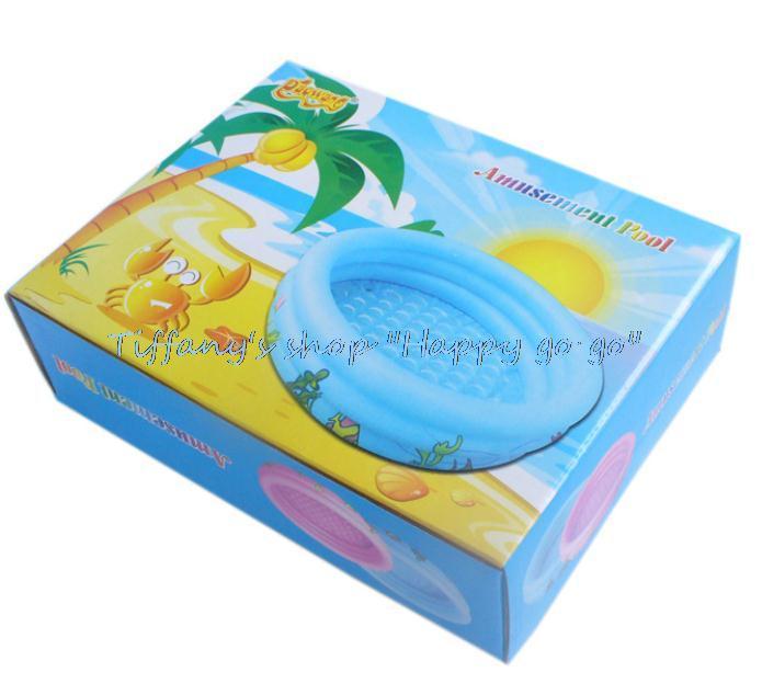 Juguetes inflables tres anillos de pvc piscina inflable for Piscina inflable bebe