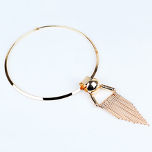 Buy 2017 fashion long tassels necklace collar choker vintage statement Accessories women punk Jewelry gift wholesale for $1.42 in AliExpress store