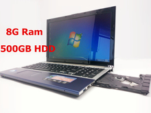 15 inch gaming laptop notebook computer wtih DVD 8GB DDR3 500GB HDD in-tel  J1900 2.0Ghz quad core WIFI webcam HDMI(China (Mainland))