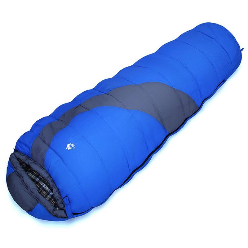1950G Sleeping Bag Winter Warm Down Single Bag Envelope Sport Outdoor Camping Hiking Sheet Travel Bag Sacos Dormir -10 Grados<br><br>Aliexpress