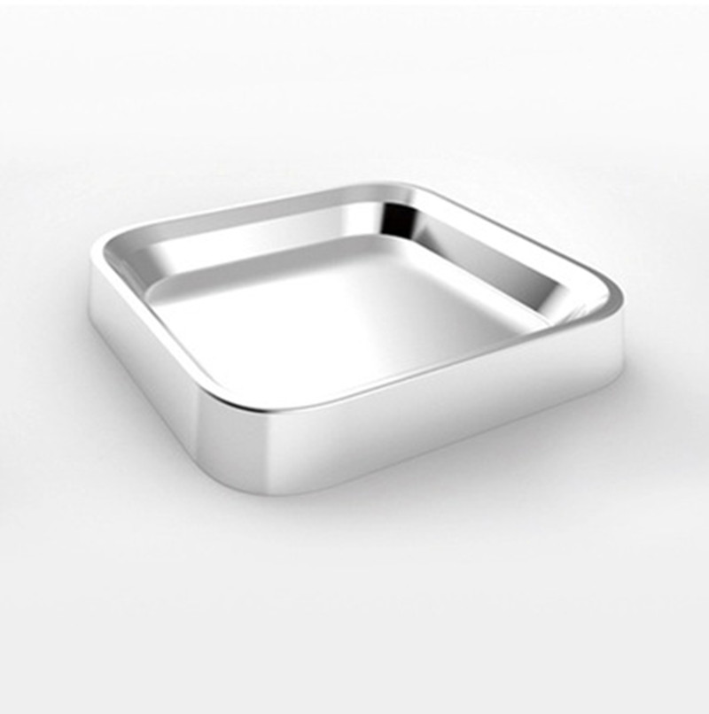 Food + multi-function stainless steel boxes of soap box/storage box/ashtrays/ food dishes12.5*12.5*2cm(China (Mainland))