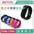 Caller ID Calorie Pedometer Silicone Wristband Heart Rate Monitor Watch