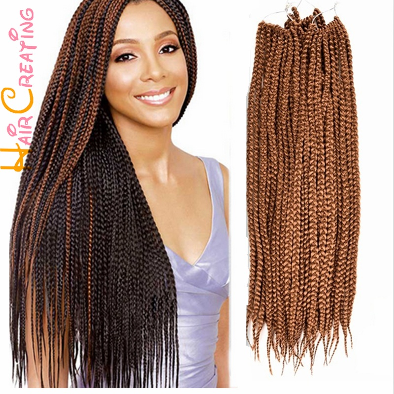 Crochet Box Braids For Sale : inch 3S Box Braid Hair Crochet Braids Synthetic Senegalese Twist Braid ...