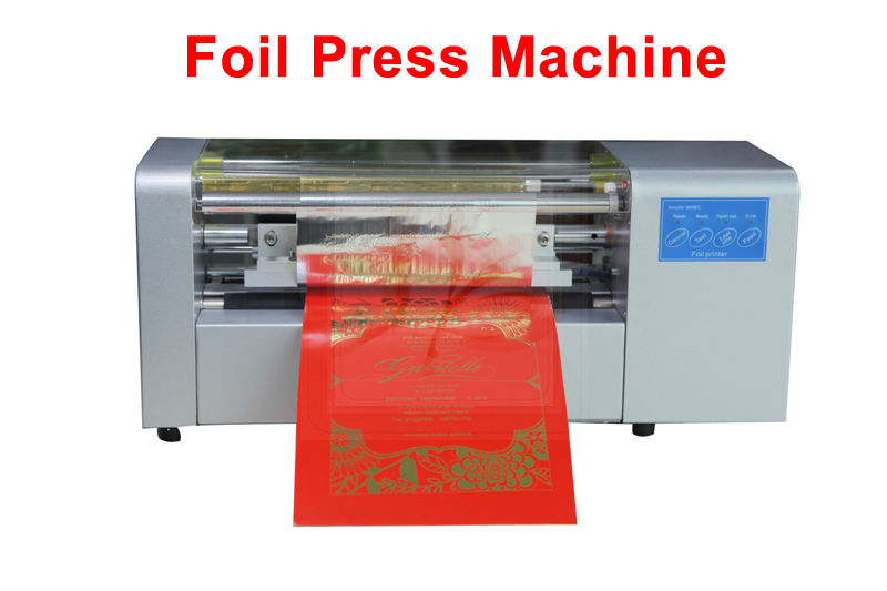 LY 400B foil press machine digital hot foil stamping