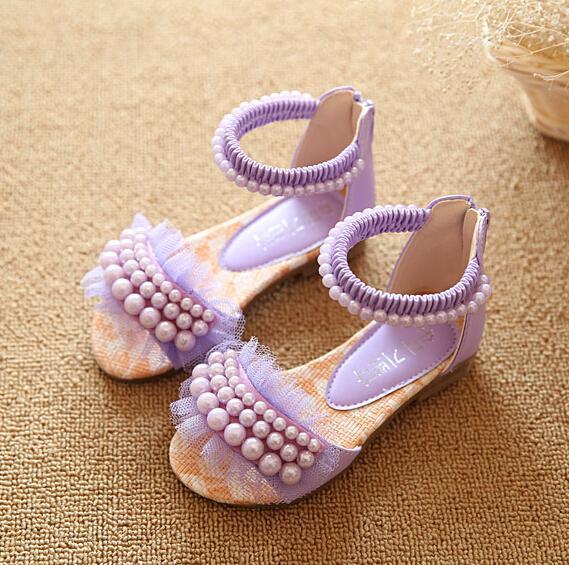 2015 new children sandals girls sandals summer fashion ...