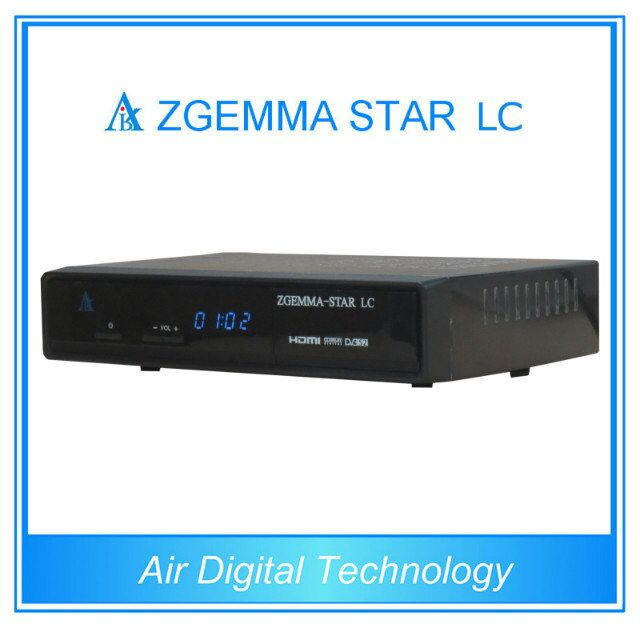 2pcs/lot Low Cost DVB-C Cable Receiver zgemma-star LC based Enigma 2 linux OS FTA Receiver(China (Mainland))