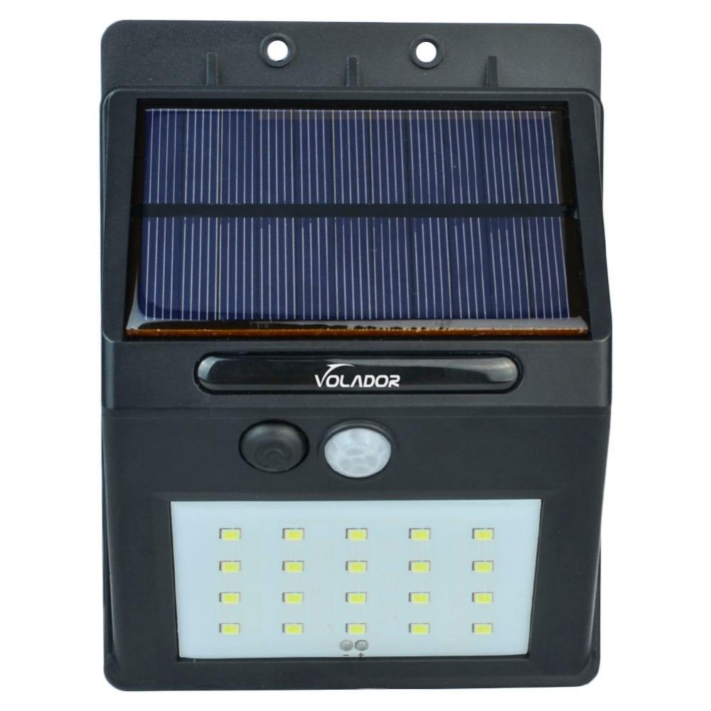 20 LED Solar Powered Motion Sensor Light Outdoor Solar Led