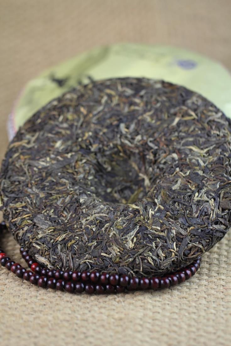 Tailorable wu yi black trees autumn tea Puer tea health care Chinese yunnan puerh 357g cake  the China pu er cha to lose weight cheap
