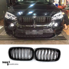 X5 X6 Replacement Front Grill for BMW X Series F15 F16 Taiwan Origin Car Styling Bumper Grille Gloss Black Dual Slat
