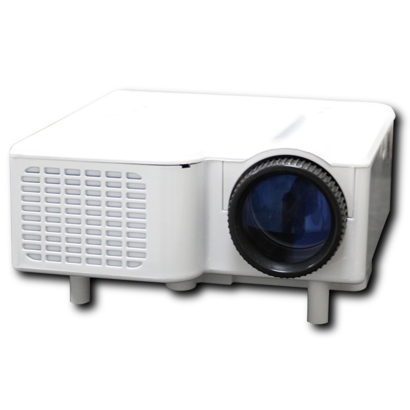 "2016 Free shipping LED Projector Mini LED Projector Portable Proyector support HDMI VGA AV USB SD Speaker 18''-60"" Display"