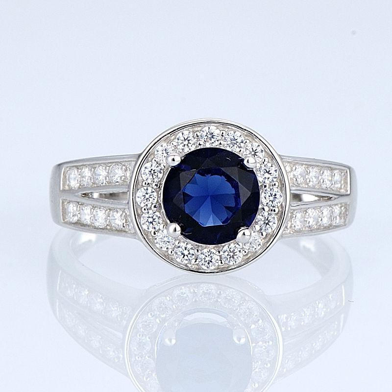Silver Ring - R303069BLGZSL925-SV8