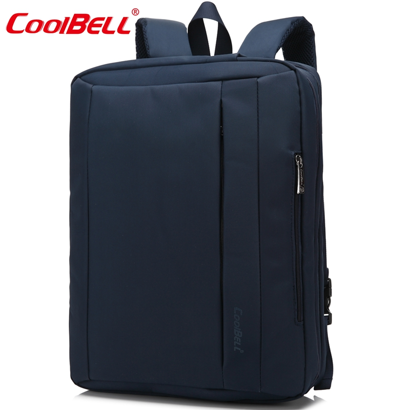 CoolBell Waterproof Oxford Cloth 15.6 17.3 inch Laptop Bag Multifunctional Laptop Briefcase backpack unisex For iPad Pro Macbook(China (Mainland))
