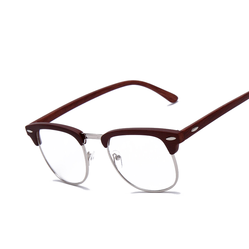 Brand Johnny Depp Wood Glasses Men Women Vintage Optical ...