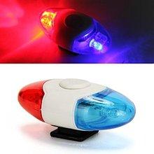 Mini Waterproof Police Light 4 LED 4 Flash Mode Bicycle Bike Cycling Rear Light Safety Warning Tail Light Lamp,free shipping(China (Mainland))