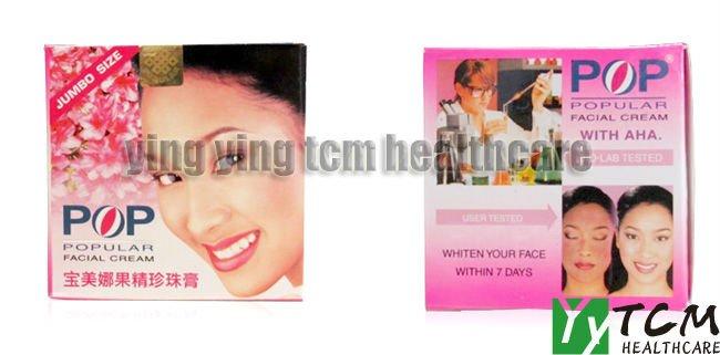 La pigmentation sur la personne le traitement avec la crème