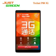 Планшет Teclast P80 3G 8 дюймов 1280*800 Android 5.1 Intel SoFIA 3G-R X3 -C3230 4 ядра 1GB RAM 8GB ROM GPS OTG Bluetooth