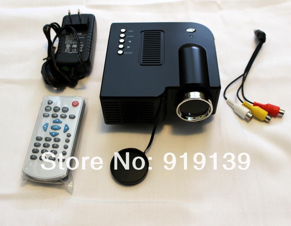 Hdmi mini projector led lamp portable cheap projetor usb for Portable handheld projector