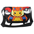 Polyester shoulder bag printed with Pikachu of Anime Monster PokemonType B
