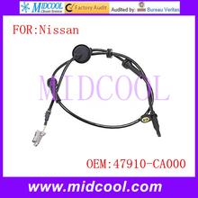 New ABS Sensor Wheel Speed Sensor use OE No. 47910-CA000 for Nissan Murano(China (Mainland))