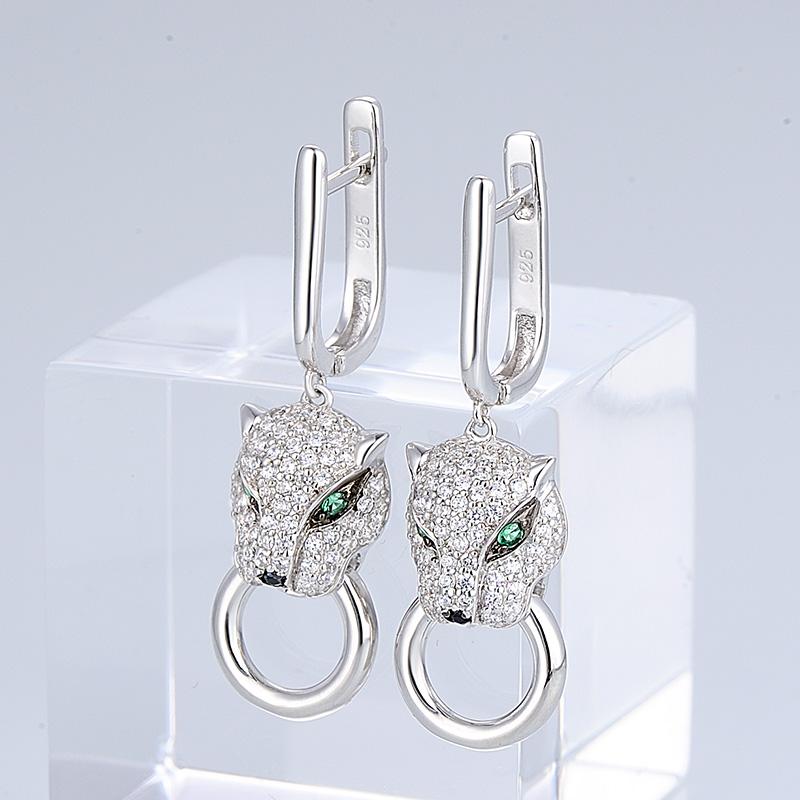 Silver Earrings - E304390SBGSZSL925-SV10