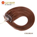 Human Hair Micro Loop Ring Hair Extensions 50g 0 5g Strand Pre bonded Fusion Hair Extensions
