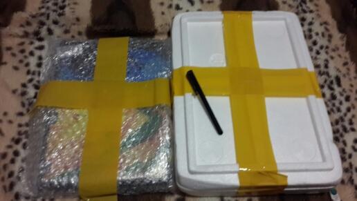 стекло упаковано очень очень хорошо. доставка до Ирк.обл. ровно месяц. что радует)) спасибо продавцу!