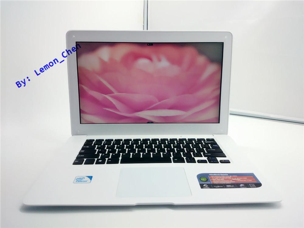 Cheap 14 Laptop Computer Notebook Celeron J1900 Quad Core 8G RAM 1TB HDD Windows 7/8 WIFI Webcam Portable Laptops PC 3 Color(China (Mainland))