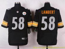 Men's free shiping A+++ quality Pittsburgh s #58 Jack Lambert Elite,camouflage(China (Mainland))