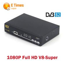 Original V8 Super DVB-S2 3G WiFi Ethernet satellite receiver Cccam newcam Support Youtube PowerVu,DRE & Biss key IPTV ip camera