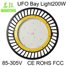 LED UFO High Bay Light Mining Lamp LED Industrial Lamp 200W 220W IP65 22000LM 90-305V MY-GKL-UFO-200W(China (Mainland))