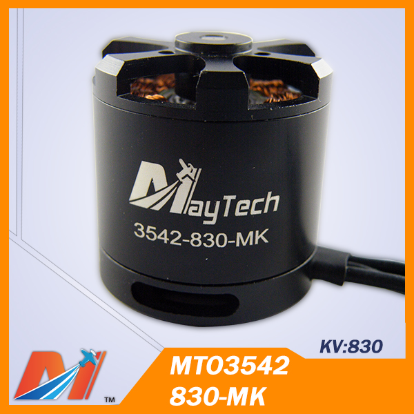 Maytech 3542 830kv rc electric motor with 6S 650mm quadcopter(China (Mainland))