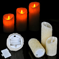 3Pcs lot LED Candle Wireless Remote Control operated led flameless candles bougie Light set remote Party