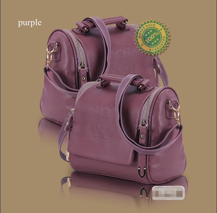 2013 New Korea Fashion Handbag PU Leather Ladies Hand Bag Shoulder