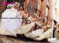 Свадебный зонтик AMELIE 100% A0101-2