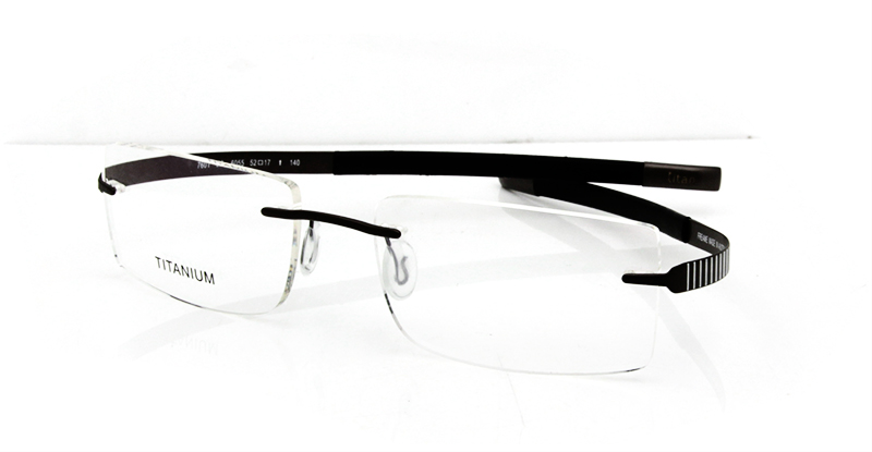 Glasses Frames Optical Express : Eyewear & Accessories Memory Titanium Glasses Black Color ...