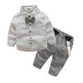 Gentleman Baby Boy Clothes 2016 Fashion Stars Printing Clothing Set For Newbron Baby Kids Long Sleeve