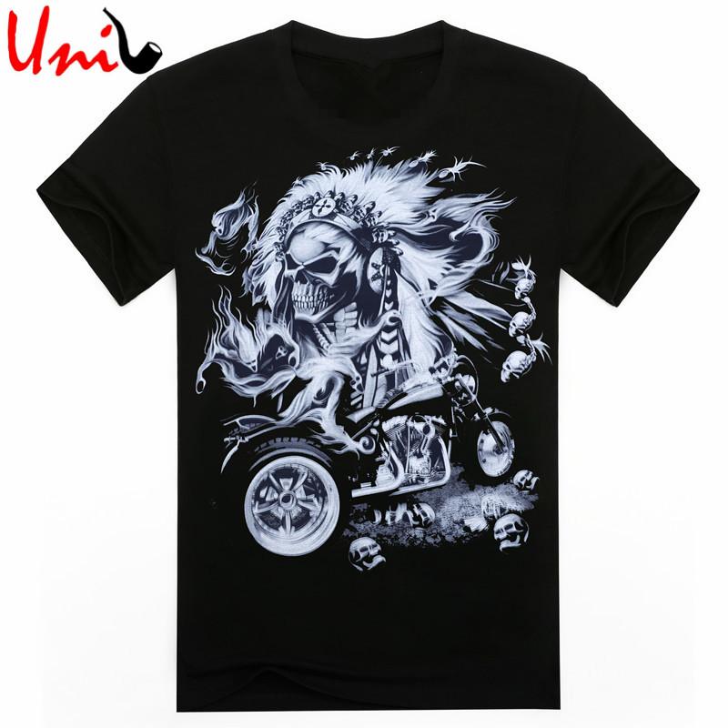 2016 Summer Creative Men T Shirt Punk Rock T Shirts 3d